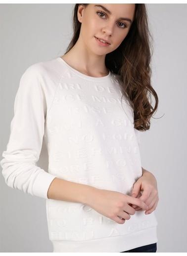 Colin's Sweatshirt Beyaz